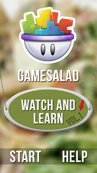 GameSalad Watch and Learn Vol 1