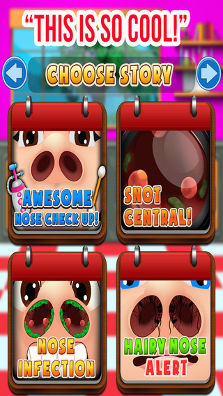 Little Kids Nose Doctor Office - Free Games for Girls and Boys