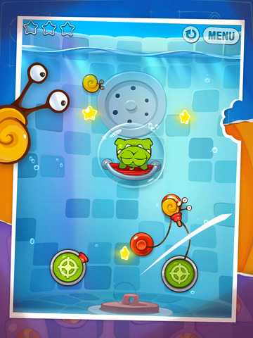 Screenshot #3 for Cut the Rope: Experiments HD