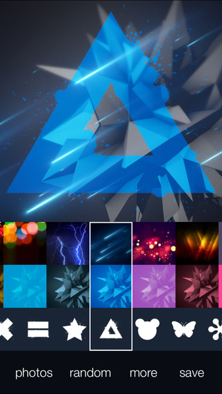 InstaColor FX - Photo Editor with Colorful Shapes for Instagram