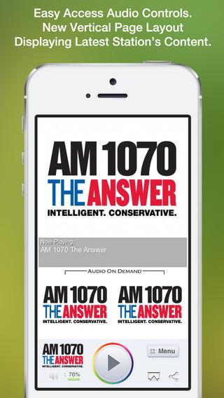 【免費新聞App】AM 1070 The Answer-APP點子