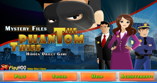 Mystery Files - The Phantom Thief - Free Hidden Object Game