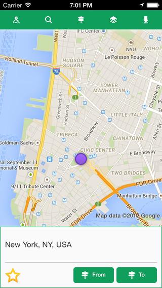 Offline Maps Pro - 离线地图[iPhone]丨反斗限免