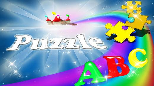 ABC Puzzle Alphabet Letters Magical Game