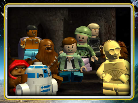 Screenshots of LEGO® Star Wars™:  The Complete Saga for iPad