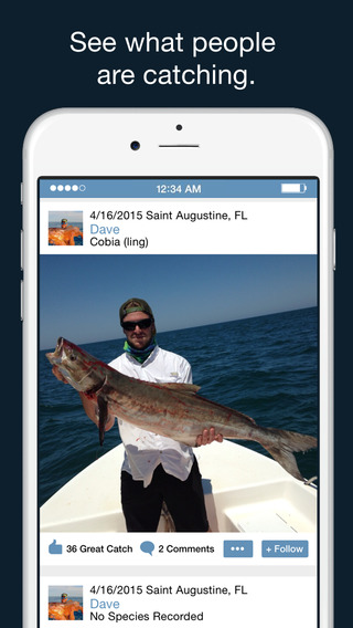 iFishEarth - Social Fishing Reports Forecast Spots