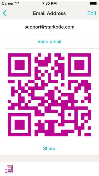 Sleek QR Code Reader Scan and Create