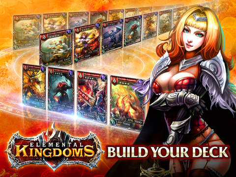 Elemental Kingdoms (CCG) для iPad