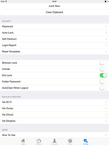 Password Manager - Secure Account Wallet Vault & Lock Apps Passcode Safe screenshot