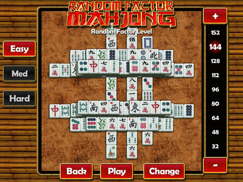Random Mahjong iPad Screenshot 1