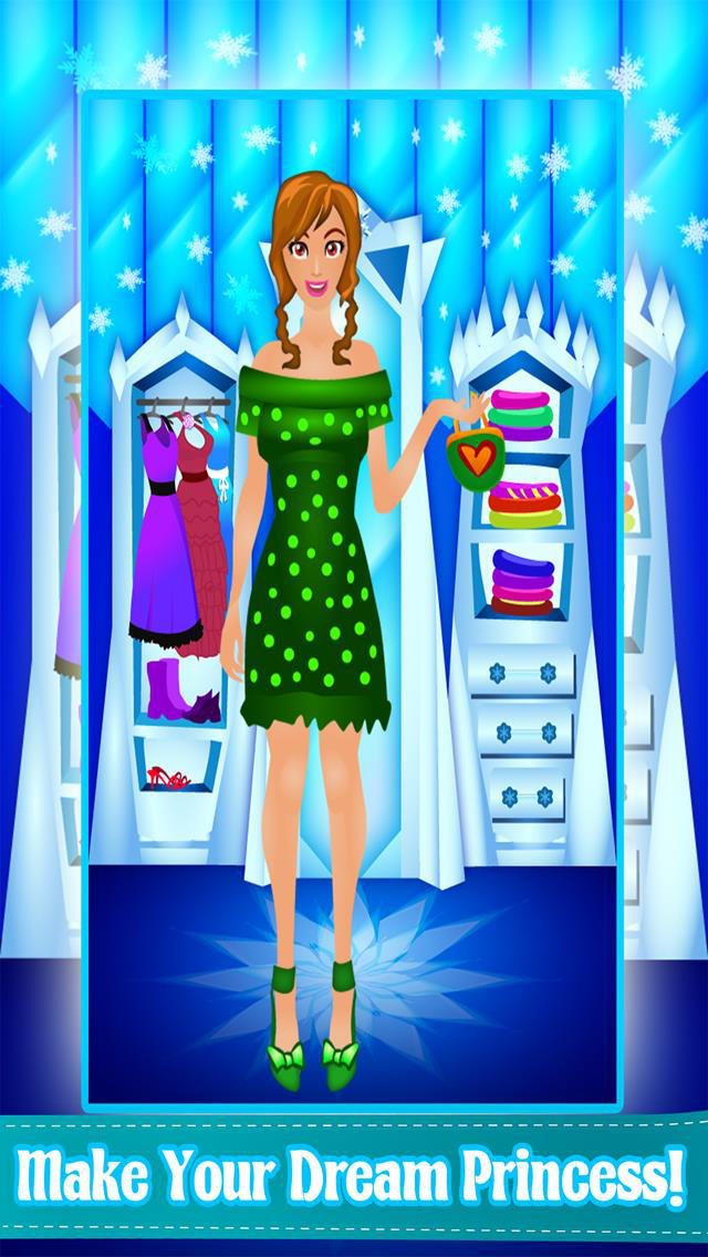App Shopper Ice Movie Princess Style Fashion Dress Up Makeover Spa Game Free Games