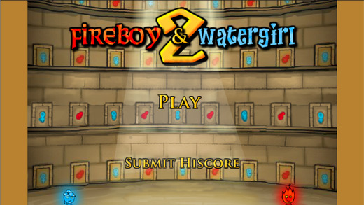 Fireboy Watergirl - The Light Temple