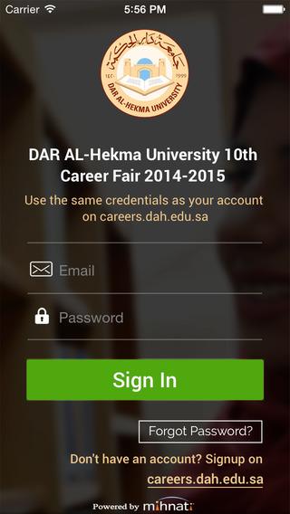 DAH Career Fair