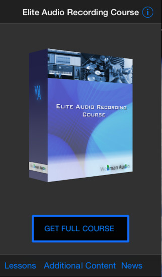 Elite Audio Recording Course Free
