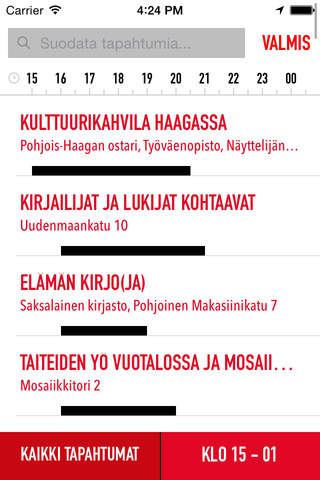 Taiteiden Yö screenshot 2