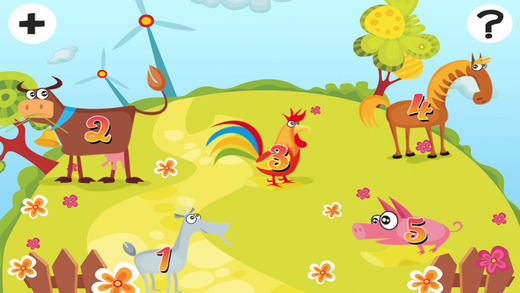 Animated Kids Game: Many Farm Animals Baby Puzzle-s in one App
