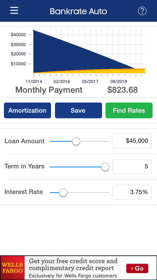App Shopper: Auto Rates, Payment Calculator & Car Insurance by Bankrate (Finance)