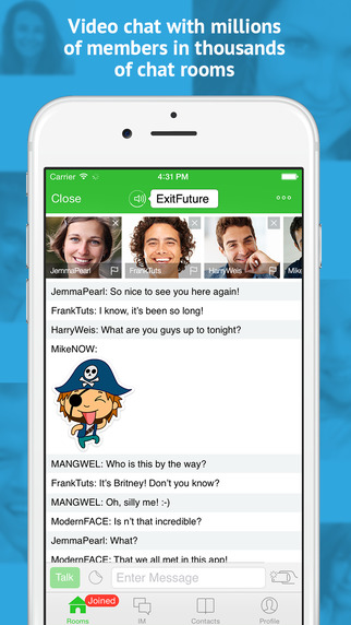 Camfrog - Free Topic Based Group Video Chat - Make New Friends