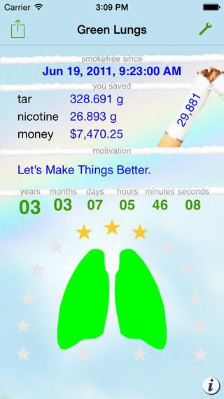GreenLungs iPhone Screenshot 4