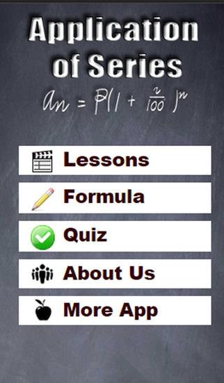 Application of Series Mathematics