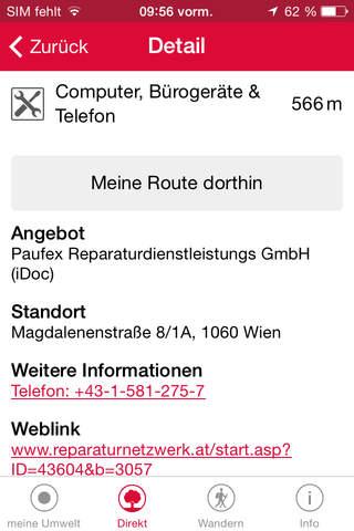 meine Umwelt in Wien screenshot 2