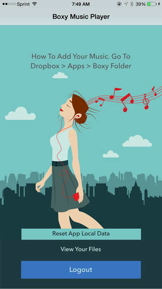 Boxy - Music Player For Dropbox