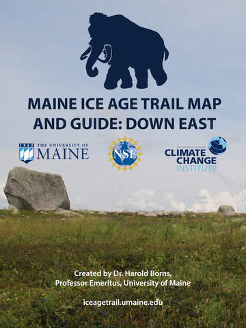 Maine Ice Age Trail Map Guide