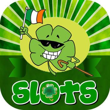 Irish Shamrock Slots Machine LOGO-APP點子