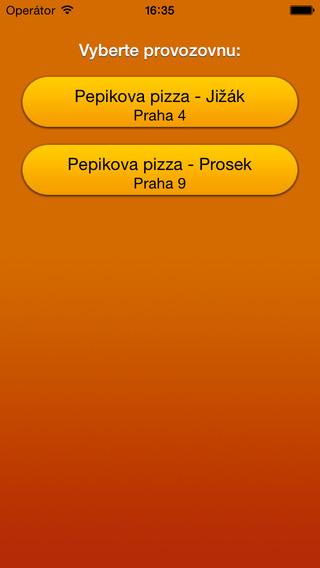 Pepikova pizza Praha