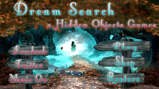 Hidden Objects Games : Dream Search