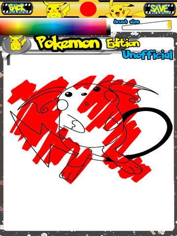 Coloring Books For Pokemon Edition Unofficial APP APP