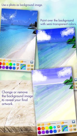 Art App - ClearPainting HD iPhone Screenshot 2