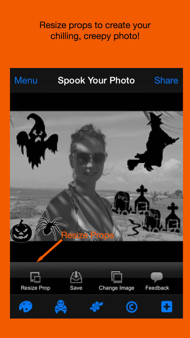 Spook Your Photo iPhone Screenshot 4