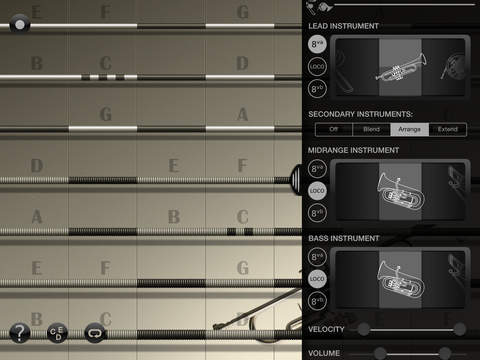 iFretless Brass Screenshots