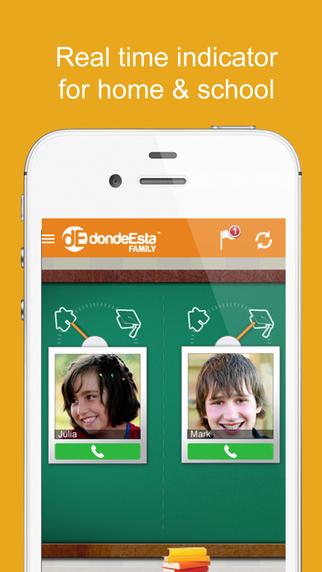 dondeEsta Family - Locate your Family Family Tracker