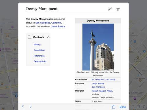 Screenshots for GeoZone