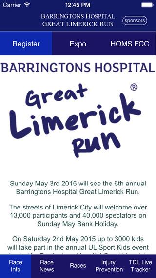 Barringtons Hospital Great Limerick Run