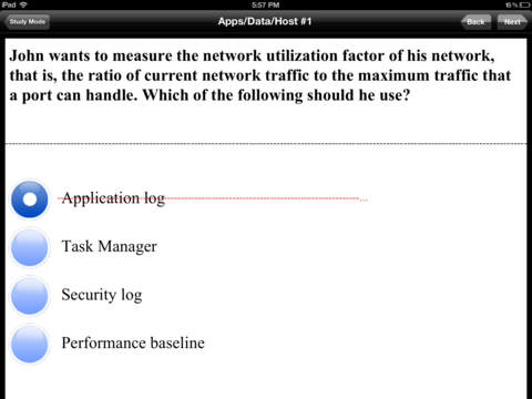 CompTIA Security+ SY0-201 Test Prep iPad Screenshot 2