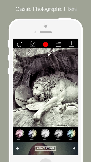 Visual Show Cam Pro - Enhance your photo with 350+ sleek filter