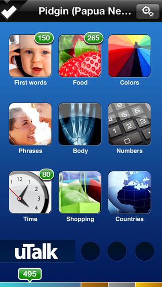 uTalk HD Pidgin (Papua New Guinea) iPhone Screenshot 1