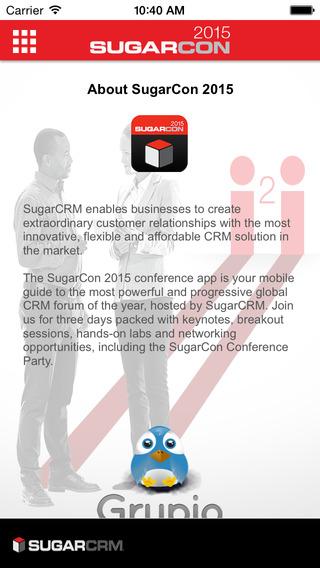 SugarCon 2015 Mobile App