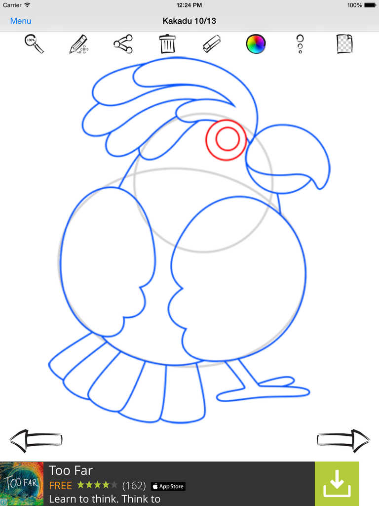 Scribble Drawing App : App shopper how to draw birds education