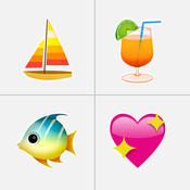 表情符号软键盘 - 的全新彩色 Emoji 表情软键盘