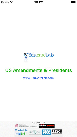 【免費教育App】US Amendments and US Presidents-APP點子