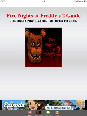 Guide For Five Nights at Freddy's 2 HD