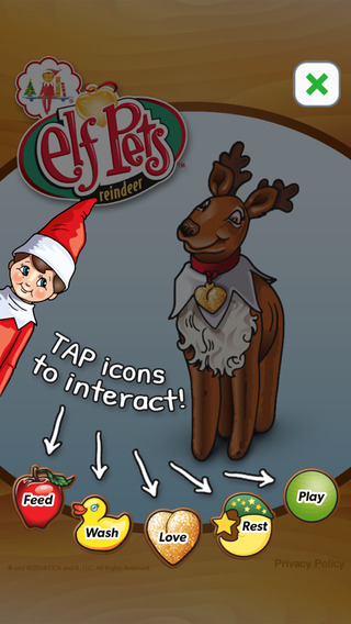 Elf Pets Reindeer - Elf on the Shelf® — Virtual Pet with Mini Games and Christmas Magic Meter™ for K