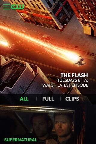 Screenshot 1 The CW