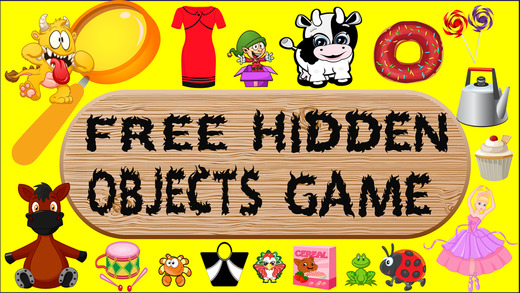 Free Hidden Objects Game For Kids