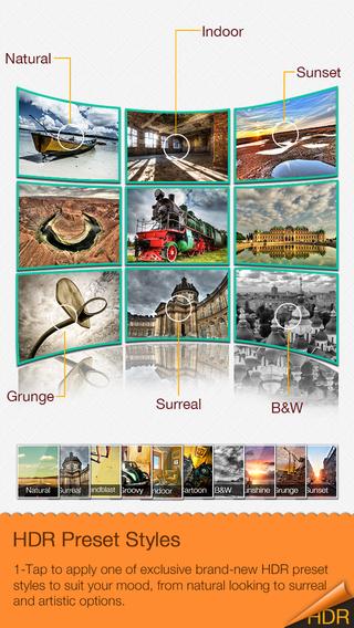 Fotor HDR – HDR Camera & High Resolution Images Creator Screenshot