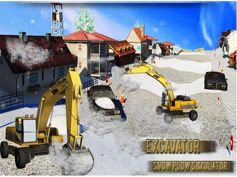 玩免費遊戲APP 下載Snow Plowing Simulator - Heavy Excavator Machine 3D app不用錢 硬是要APP